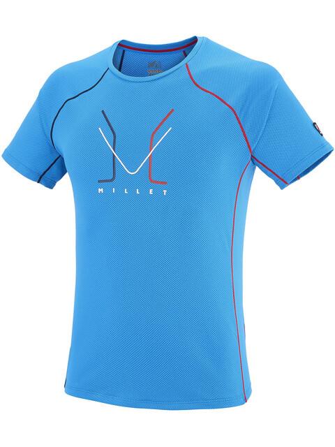 Millet Trilogy Delta Logo Short Sleeve Shirt Men light sky